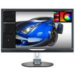 3840 x 2160 pixels - 1 ms (gris à gris) - Format 16/9 - Pivot - DisplayPort - HDMI - MHL - Noir