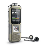 Dictaphone numérique 4 Go avec trois microphones et slot MicroSD