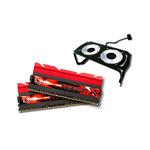 Kit Dual Channel DDR3 PC3-24800 - F3-3100C12D-8GTXDG + ventilateurs (garantie à vie par G.Skill)