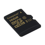 MicroSDHC 16 Go High Capacity Class 10 (garantie à vie par Kingston)