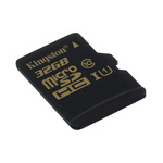 MicroSDHC 32 Go High Capacity Class 10 UHS-1 (garantie à vie par Kingston)