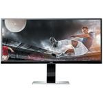 3440 x 1440 pixels - 5 ms (gris à gris) - Format large 21/9 - Dalle IPS - Pivot - DisplayPort - HDMI - Hub USB - Noir