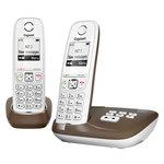 Téléphone sans fil avec 1 combiné supplémentaire et répondeur