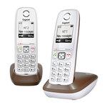 Téléphone sans fil avec 1 combiné supplémentaire