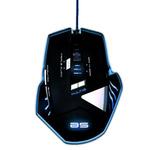 Souris filaire pour gamer - Droitier - Capteur optique 2500 dpi - 8 boutons - Rétro-éclairage