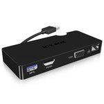 Adaptateur multifonction USB 3.0 pour ordinateur portable et de bureau