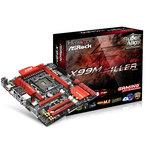 Carte mère Micro ATX Socket 2011-3 Intel X99 Express - DDR4 - SATA 6Gb/s - M.2 - USB 3.0 - 2x PCI-Express 3.0 16x + 1x PCI-Express 2.0 16x