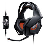 Casque-micro à réduction active de bruit pour gamer (compatible PC / PS4)