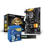 Carte mère ATX Socket 1150 Intel H97 Express + CPU Intel Core i3-4160 (3.6 GHz) + RAM 4 Go DDR3 G.Skill