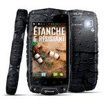 "Téléphone 3G+ Dual SIM IP68 - Quad-Core 1.2 GHz - RAM 1 Go - Ecran tactile 4"" 480 x 800 - 4 Go - Bluetooth - 2930 mAh - Android 4.3"