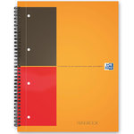 Oxford FilingBook Cahier A4+ 200 pages 233 x 298 mm petits carreaux 5 x 5 mm
