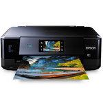 Imprimante Multifonction jet d'encre 3-en-1 compatible Airprint et Cloud Print (USB / Wi-Fi N / Ethernet )