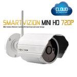 Caméra IP mini HD 720p Cloud jour/nuit  (Ethernet / Wi-Fi N)