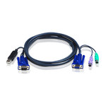 Cordon KVM USB-VGA-PS/2 6m