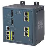 Switch industriel 4 ports 10/100Mbps + 2 ports gigabit 10/100/1000Mbps  + SFP