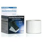 Boîte de 320 étiquettes pour badge standard blanches - 54 x 70 mm