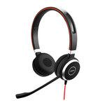 Micro-casque filaire stéréo pour softphones VoIP, mobiles et tablettes