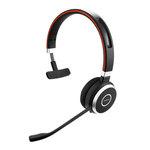 Micro-casque sans fil Bluetooth mono équipé d'un adaptateur Jabra Link 360 USB pour softphones VoIP, mobiles et tablettes