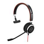 Micro-casque filaire mono pour softphones VoIP, mobiles et tablettes