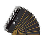 Kit Quad Channel 8 barrettes de RAM DDR4 PC4-19200 - CMD64GX4M8A2400C14 (garantie à vie par Corsair)