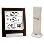 Station météo avec capteur de température extérieure