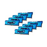 Kit Quad Channel 8 barrettes de RAM DDR4 PC4-24000 - F4-3000C15Q2-32GRBB (garantie 10 ans par G.Skill)