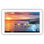 """Tablette Internet - Cortex-A9 1.2 GHz 512 Mo 4 Go 9"""" Wi-Fi N Webcam Play Store Android 4.2"""
