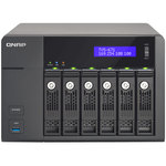 Serveur NAS 6 baies (sans disque dur) avec processeur quad-core Intel Core i5-4590S 3.0 GHz