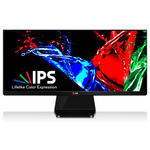 2560 x 1080 pixels - 5 ms - Format large 21/9 - Dalle IPS - HDMI - DisplayPort - DVI - Noir - Bonne affaire (article utilisé, garantie 2 mois