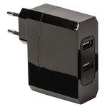 Chargeur secteur USB universel et compact (compatible tablette, smartphone...)