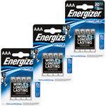 Pack de 12 piles AAA (LR03) au lithium à très hautes performances