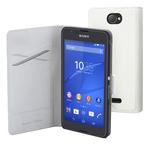Etui de protection à clapet pour Sony Xperia E4
