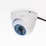 Caméra dôme HD d'intérieur cloud à vision nocturne connectée (Wi-Fi)