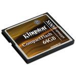 Kingston CompactFlash Ultimate 600x - 64 Go + logiciel de restauration MediaRECOVER (garantie 10 ans par Kingston) - Voir note*