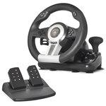 Ensemble volant + pédalier + levier de vitesse (compatible PC / PlayStation 2 / PlayStation 3)