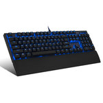 Clavier mécanique à switches SoG Victory Blue pour gamer (AZERTY, Français)
