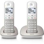 Téléphone (2 combinés) DECT sans fil (version française)