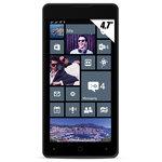 "Smartphone 3G+ Dual SIM - ARM Cortex-A7 Quad-Core 1.2 GHz - RAM 1 Go - Ecran tactile 4.7"" 720 x 1280 - 8 Go - Bluetooth - 1750 mAh - Windows Phone 8.1   3 caches batterie   Etui portefeuille"