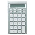 Pavé numérique ultra fin avec fonction calculatrice - sans fil Bluetooth - touches chiclet plates silencieuses - compatible Mac et PC