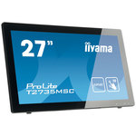1920 x 1080 pixels - Tactile MultiTouch - 5 ms - Format large 16/9 - Dalle VA - HDMI - Hub USB 3.0 - Webcam - Noir