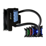 Kit de watercooling pour processeur (socket Intel LGA 775/1150/1151/1155/1156/1366/2011 et AMD2/AM3/FM1/FM2/939)