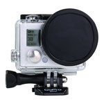 Filtre densité neutre pour caméra GoPro HERO 3+ / HERO 4