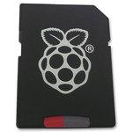 Carte mémoire avec système d'exploitation pré-chargé pour Raspberry Pi (1 et 2)