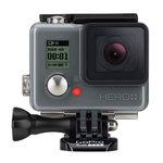 Caméra sportive HD à mémoire flash avec écran LCD tactile, Wi-Fi et Bluetooth