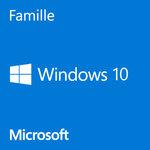 Microsoft Windows 10 Famille 64 bits (français) - Licence OEM
