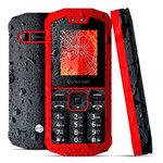 "Téléphone 2G Dual SIM IP67 - RAM 32 Mo - Ecran 1.77"" 128 x 160 - 32 Mo - Bluetooth - 1000 mAh"