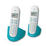 Téléphone DECT sans fil avec haut parleur (version française) avec un combiné supplémentaire