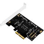 Carte d'extension port M.2 (clé M) vers une interface PCI Express X4 / SATA 6Gbps