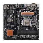 Carte mère Micro ATX Socket 1151 Intel H170 Express - SATA 6Gb/s + M.2 - USB 3.0 - 2x PCI-Express 3.0 16x