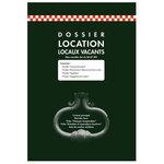 Dossier de location de locaux vacants non meublés 215 x 220 mm